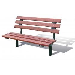 Sitzbank mit / ohne Rückenlehne