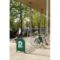 Fahrradständer 16 Einstellplätze