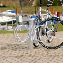 Runder Fahrradständer mit 5 Einstellplätzen