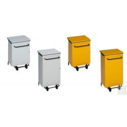 Pedal-Abfallsammler - Inh. 70 oder 90 Liter - fahrbar - verschiedene Farben