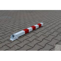 Absperrpfosten 70 x 70 mm - umlegbar