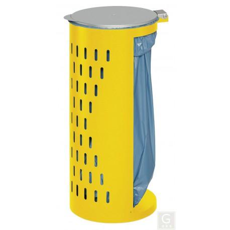 Abfallbehälter Kompakt H 85 - für 120 Liter Abfallsäcke - opt. mit Klapptür