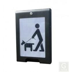 Hundekotbeutelspender Logo