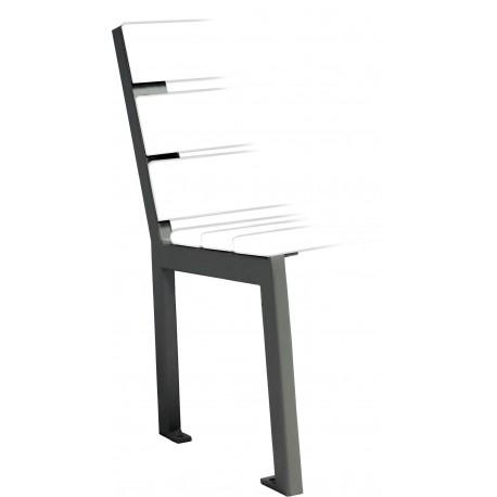 sitzb nke aus stahl und holz zum aufd beln ohne armlehnen. Black Bedroom Furniture Sets. Home Design Ideas