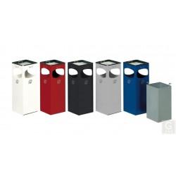 Abfallbehälter 4-fach Einwurf - Inh. ca. 29 Liter