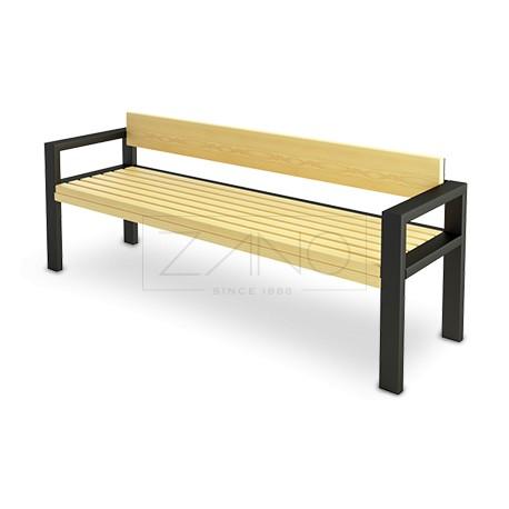 sitzbank mit r ckenlehne. Black Bedroom Furniture Sets. Home Design Ideas