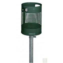 Abfallbehälter - AG 01 - 30 Liter zum Einbetonieren