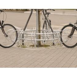 Runder Fahrradständer mit 16 Stellplätzen