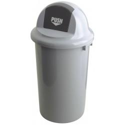 Abfallbehälter mit Klappdeckel