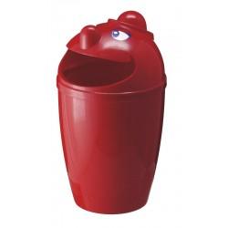 Kinderfreundliche Abfallbehälter