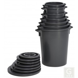 Abfallsammler Corallo aus PE