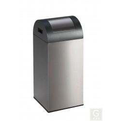 Wertstoffsammler WSG 55R - Inh. 55 Liter - Edelstahl