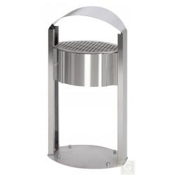 Standascher AG 120 mit Schutzdach - Inh. 15 Liter