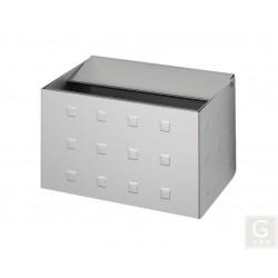 Wandascher WH 13 - Inh. 0,8 Liter - Aluminium