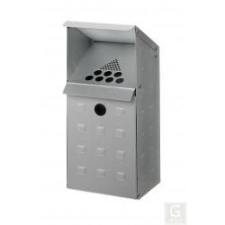 Wandascher WH 41 aus Aluminium
