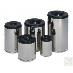 Papierkorb selbstlöschend - Inh. 15 bis 110 Liter