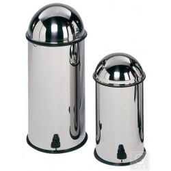 Tretabfallsammler mit Fußpedal - 11, 18 oder 30 Liter - Edelstahl
