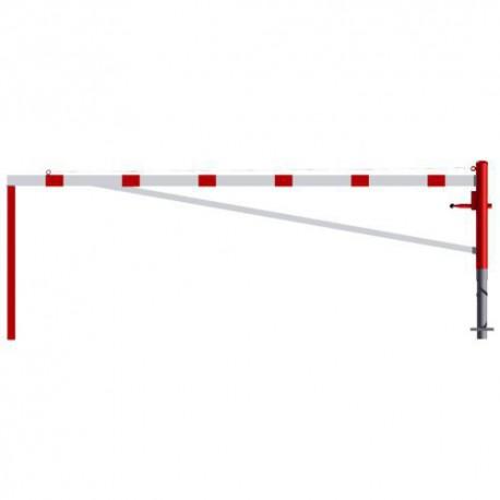 Schwere Drehsperre - Sperrbreite 3000 - 6000 mm zum Einbetonieren